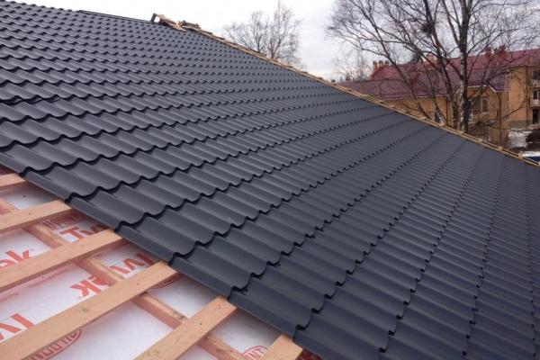 Строительство крыши частного дома цена