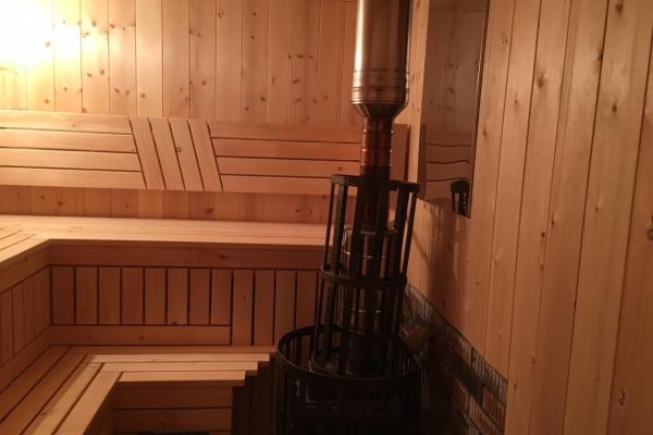 Отделка деревянной бани