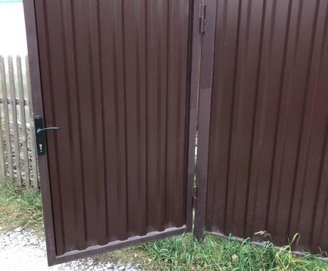 Забор из профлиста под ключ