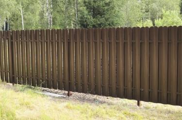 Забор дешево
