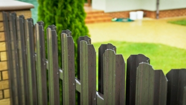 Забор из металлоштакетника дешево