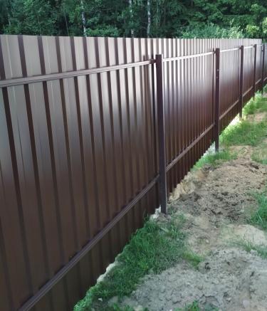 Забор для дачи